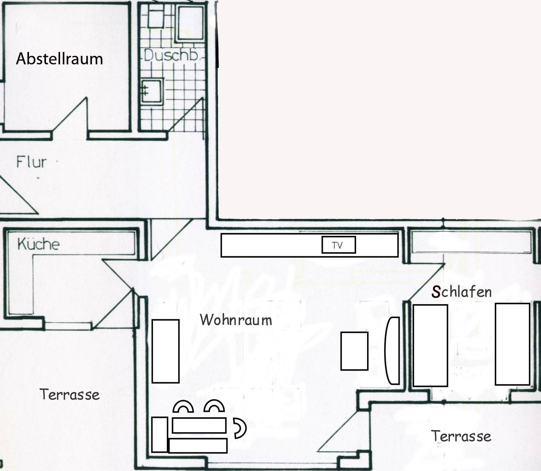 Wohn  Und Esszimmer: 30 Qm